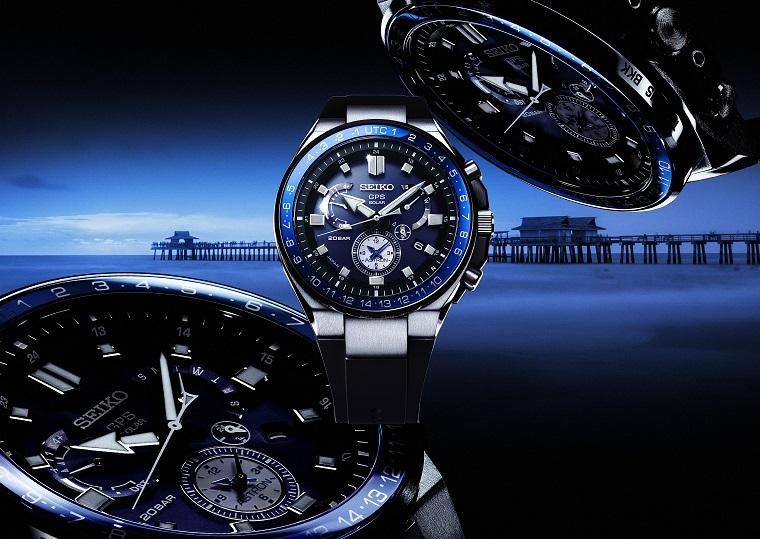 Seiko Astron GPS Solar Armbanduhr
