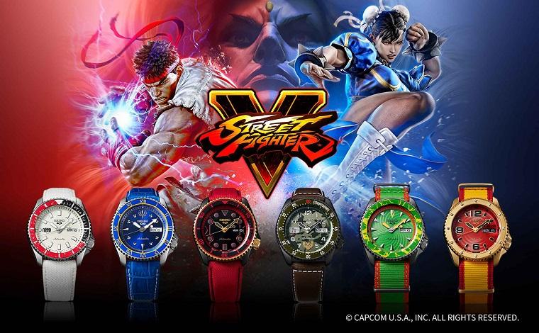 Seiko 5 Street Fighter V Uhren